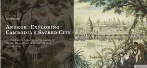 Agnkor, cité sacrée / musée des civilisations, Singapour @ singapour